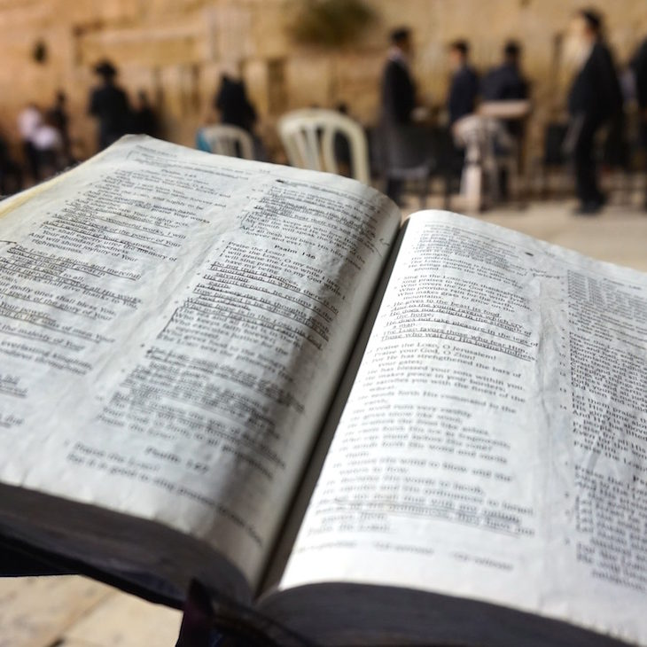 Bible at Western Wall
