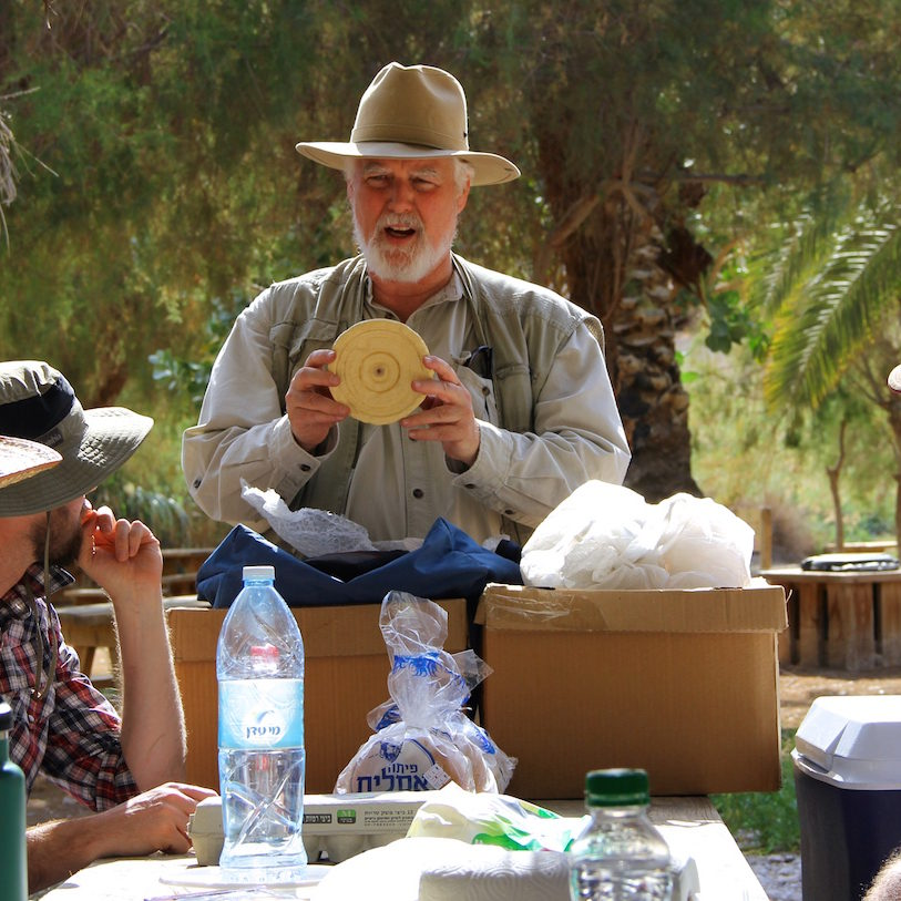 Dr Pfann Teaching Table Qumran