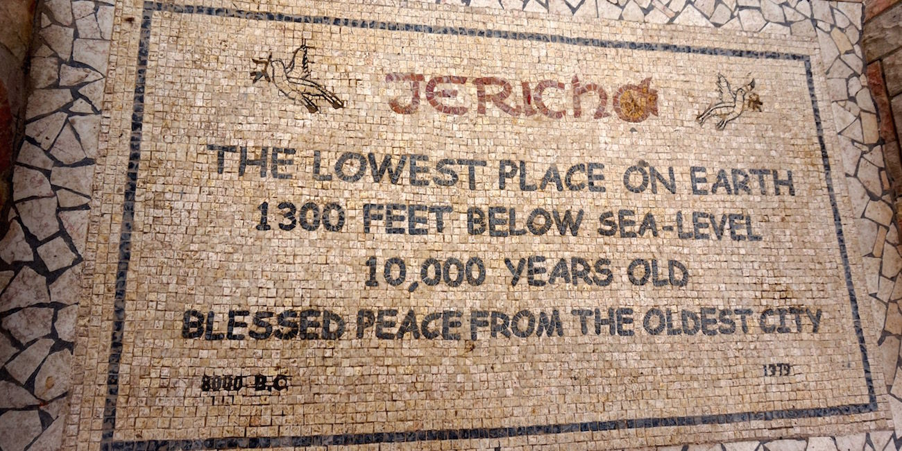 Sign Jericho Floor