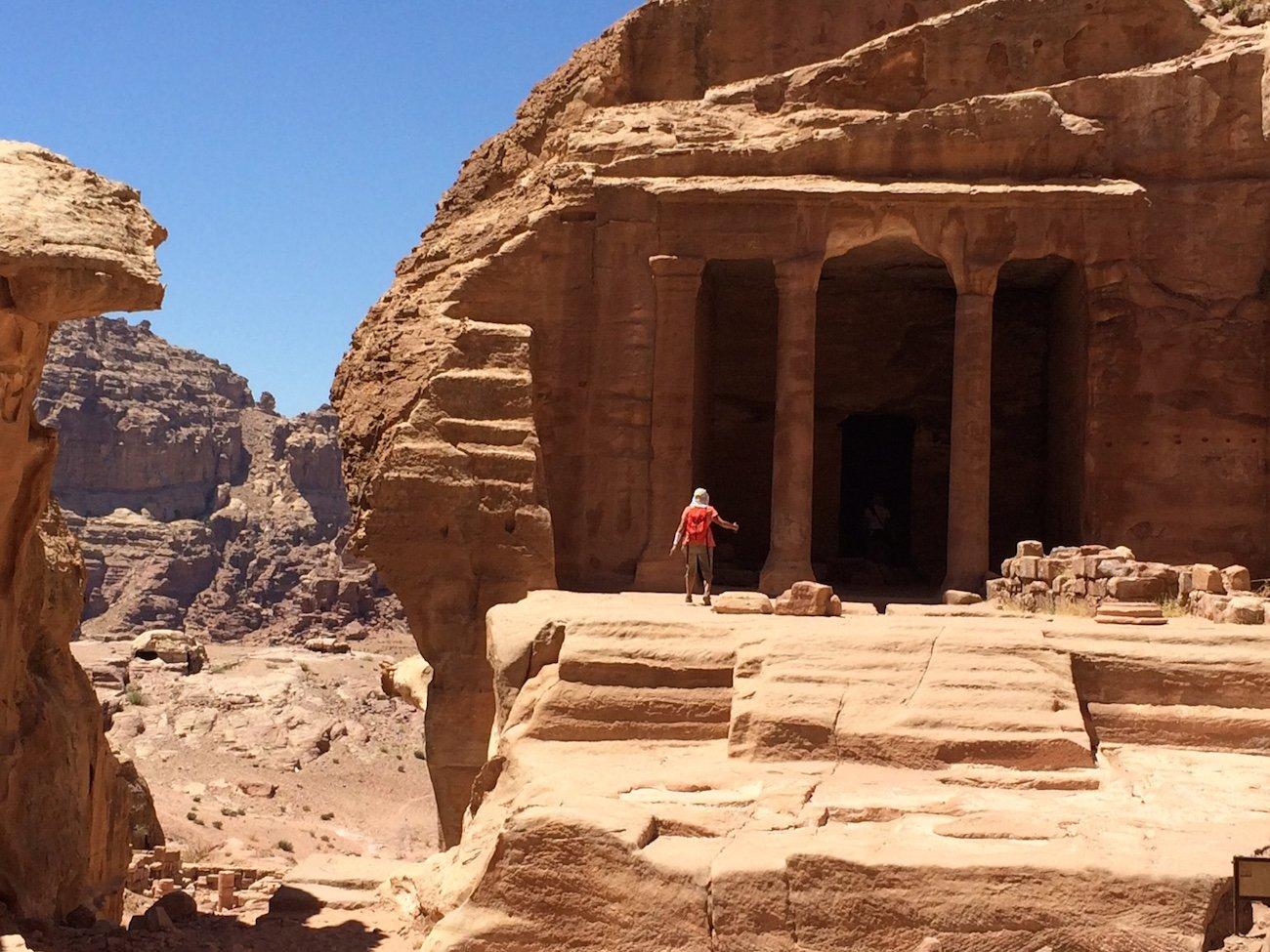Student Jordan Petra Walking In Epic