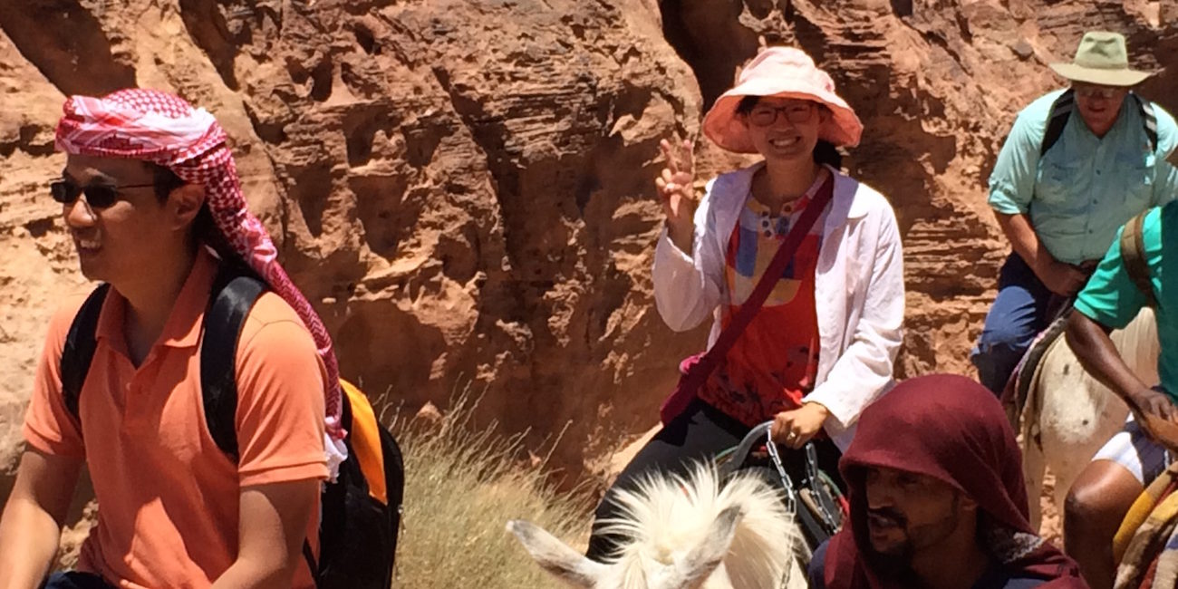 Student Jordan On Donkey 6