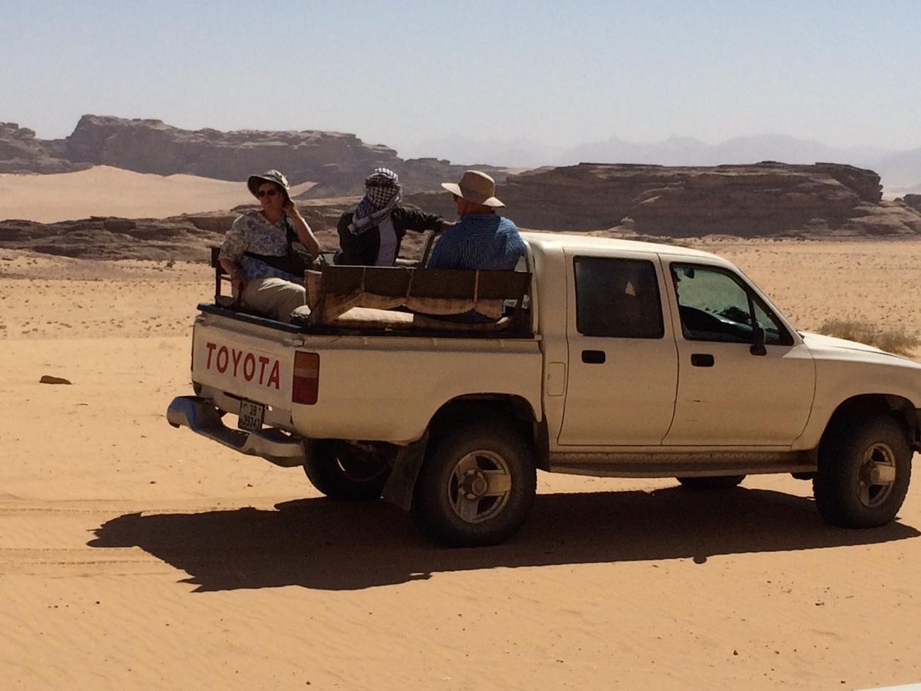 Students Jordan Jeep Desert 2
