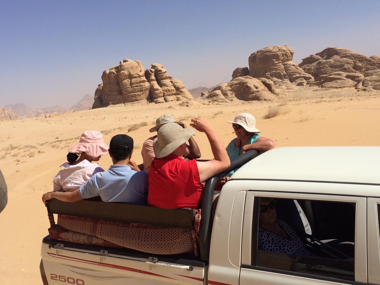 Students Jordan Jeep Desert