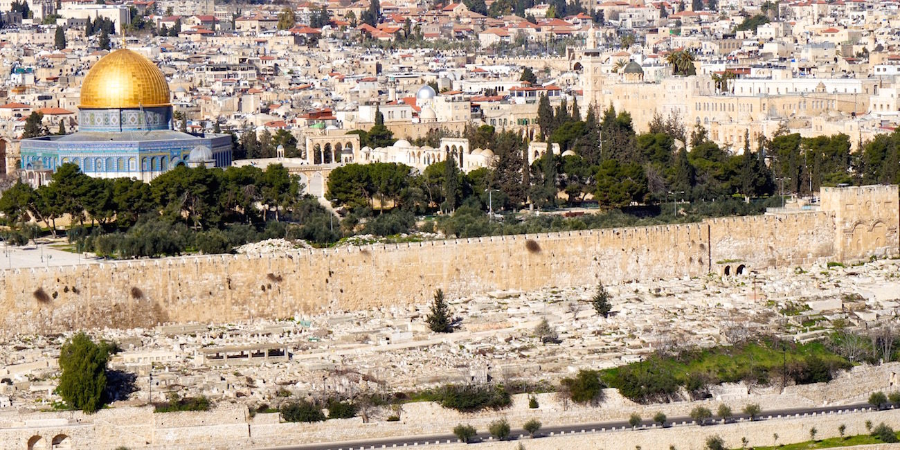 Templ Mount Overlook From Mount Of Olives